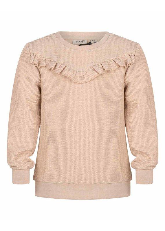 Daily7 Daily7 sweater crewneck ruffle kit