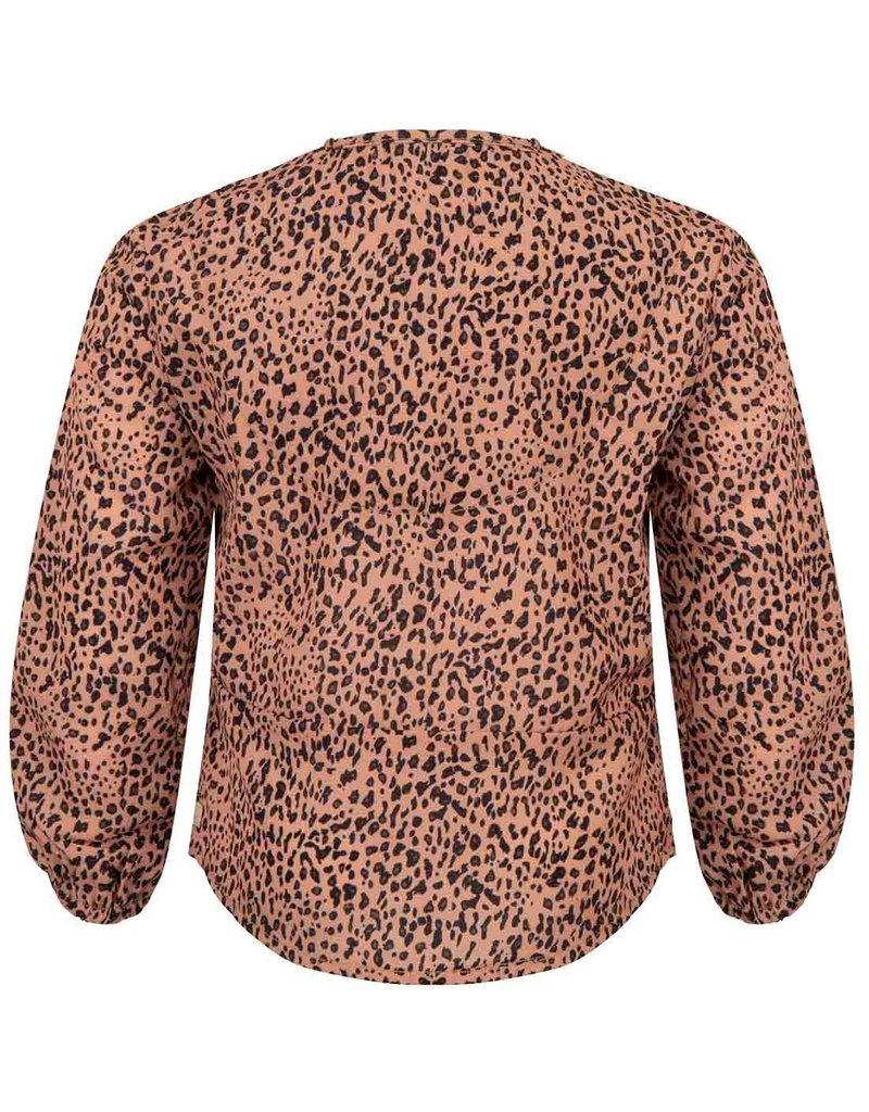 Daily7 Daily7 shirt ls panter brick dust