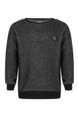 Daily7 Daily7 sweater crewneck fancy stripe antra