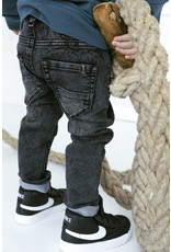 Daily7 Daily7 jeans connor skinny fit jog black denim