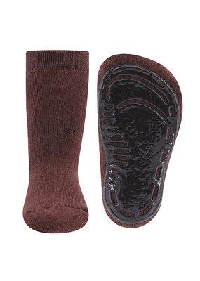 Ewers Ewers antislip sokken Mahagoni