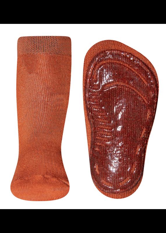 Ewers Ewers antislip sokken Kupfer