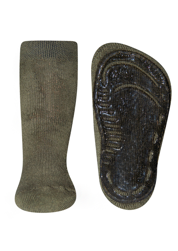 Ewers Ewers antislip sokken Oliv