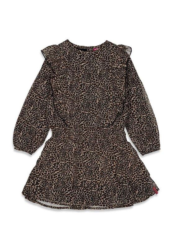 Jubel Jubel jurk voile Forever Wild zwart