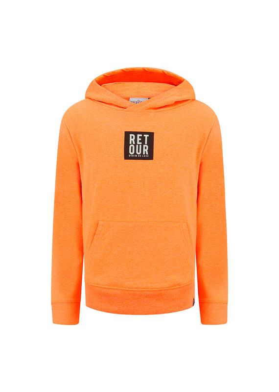 Retour Retour sweater Gino neon orange