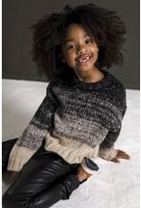 Like Flo Like Flo colourblock knit nearly black