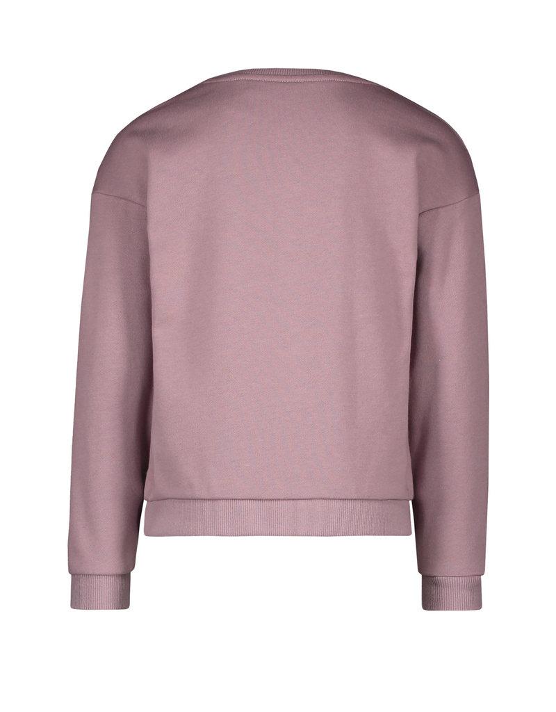 Like Flo Like Flo sweat frill sweater lilac