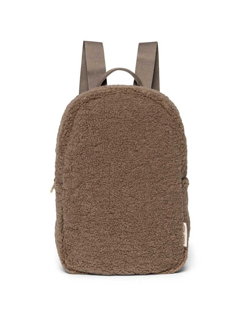 Studio Noos Studio Noos mini Chunky brown Backpack