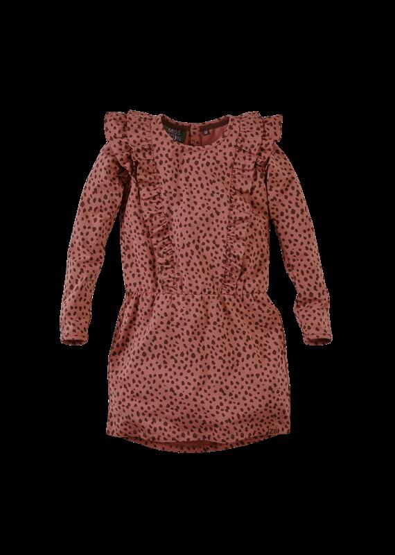 Z8 Z8 jurk Katie rusty rust/aop