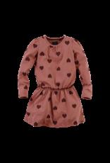 Z8 Z8 jurk Pommelien red rust/aop
