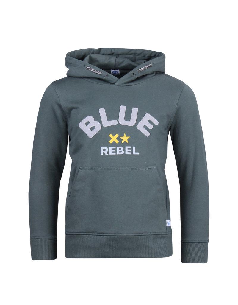 Blue Rebel Blue Rebel sweat hoody ebony