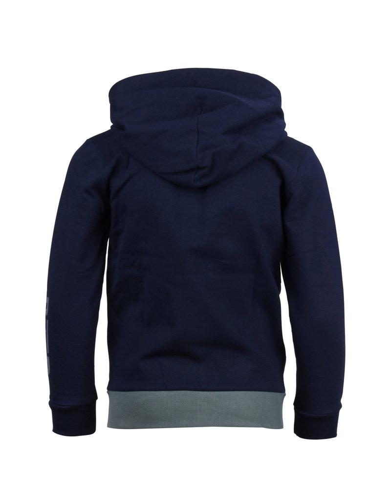 Blue Rebel Blue Rebel sweat vest hood midnight