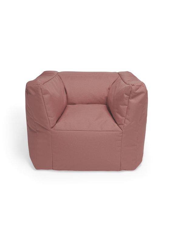 Jollein Jollein fauteuil beanbag mellow pink