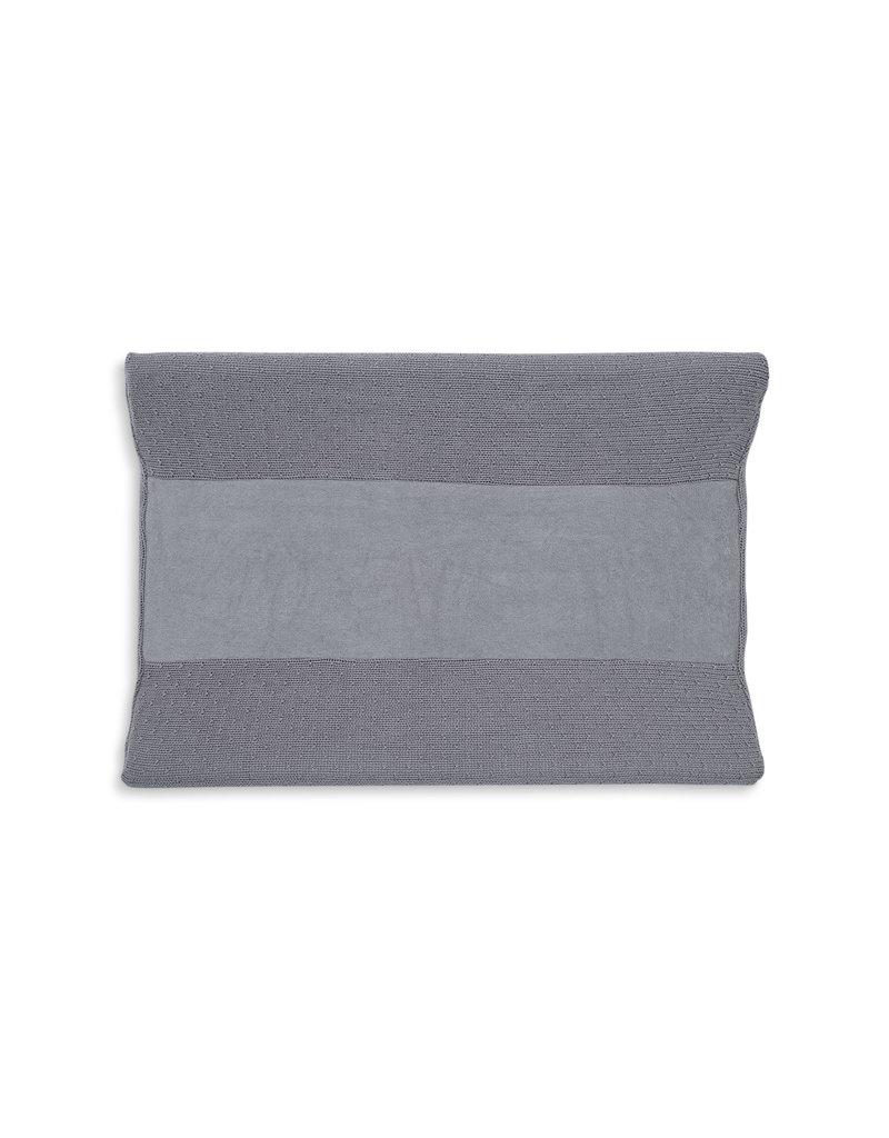 Jollein Jollein aankleedkussenhoes bliss knit storm grey