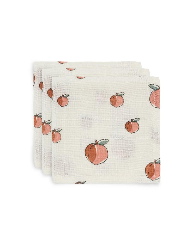 Jollein Jollein monddoekje hydrofiel Peach (2pck)