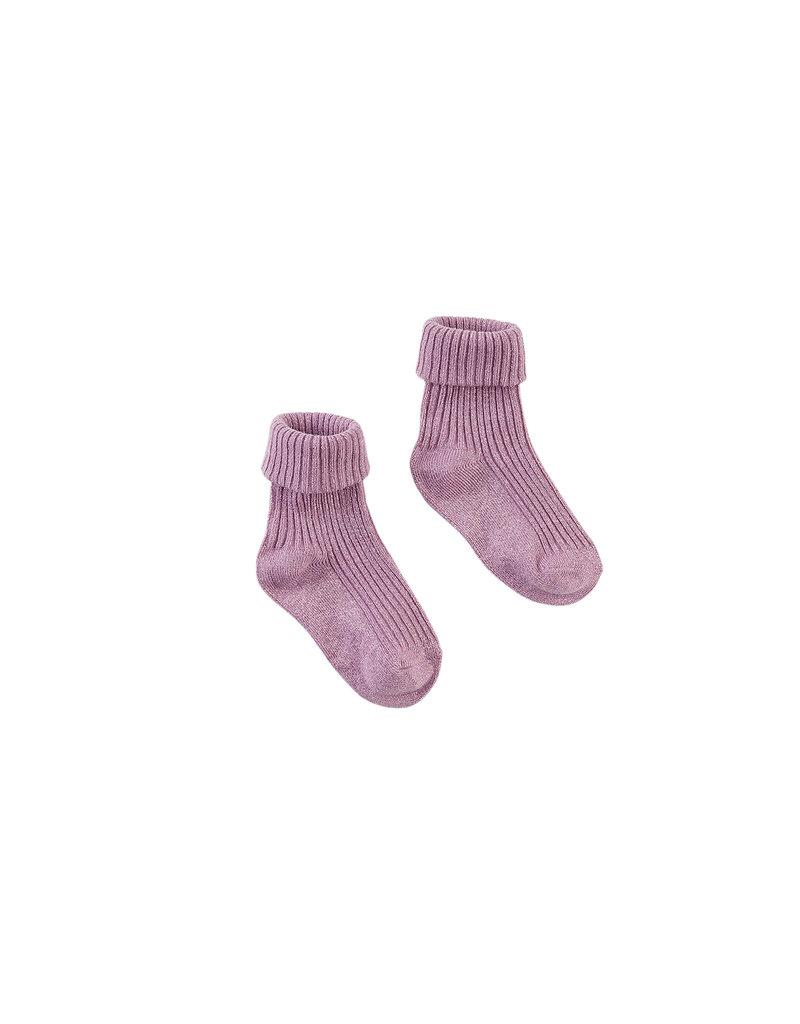 Z8 Z8 mini sokken Georgina glitter mauve it