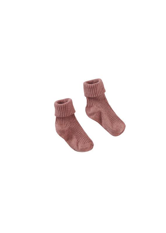 Z8 Z8 mini sokken Georgina glitter red rust