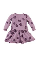 Z8 Z8 mini jurk Meilani mauve it/aop