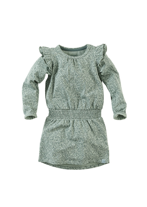 Z8 Z8 mini jurk Dash soft sage/aop