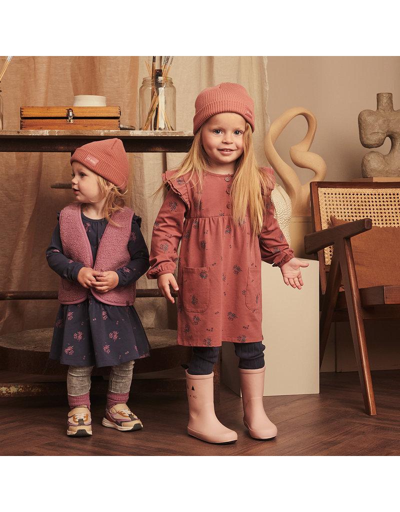 Z8 Z8 mini jurk Evie red rust/aop