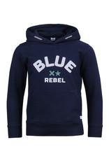 Blue Rebel Blue Rebel sweat hoody midnight