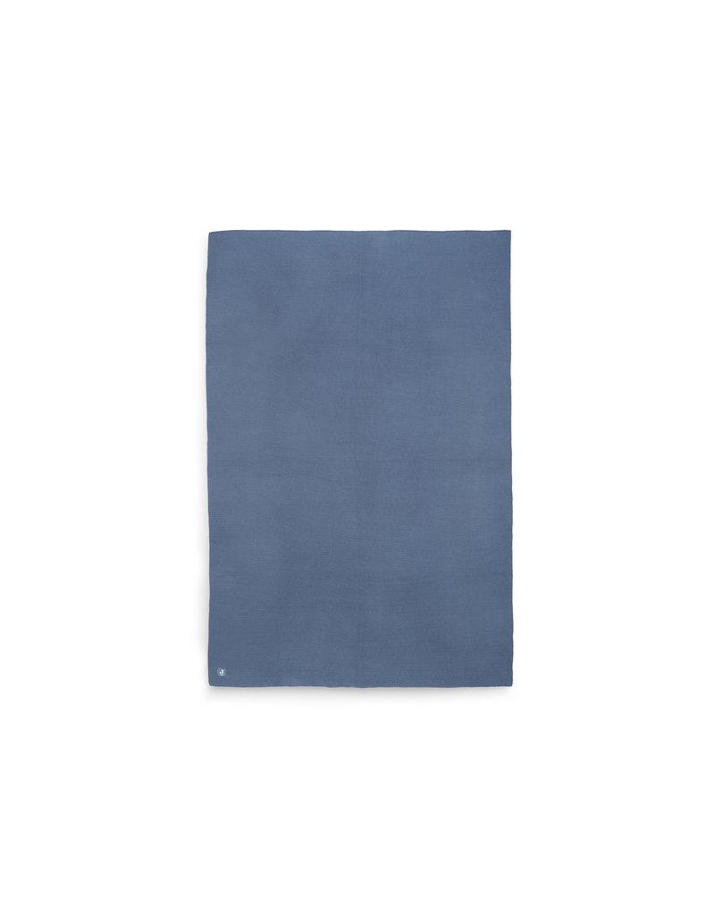 Jollein Jollein Deken 75x100 basic knit jeans blue