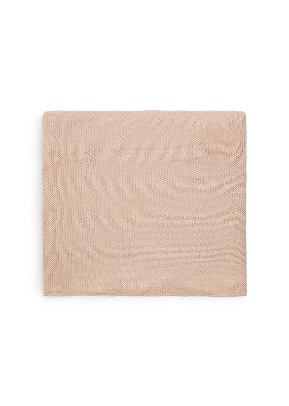Jollein Jollein Deken 75x100 basic knit pale pink