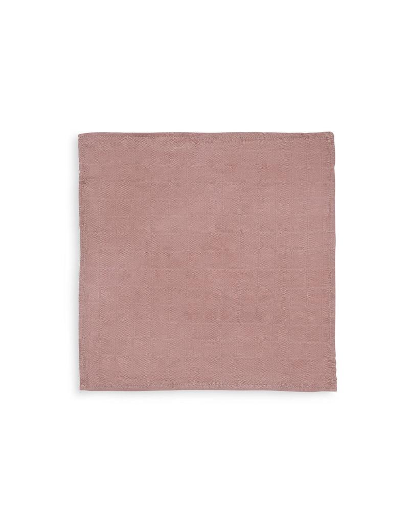 Jollein Jollein mondoekje bamboe hydrofiel pale pink (3pck)