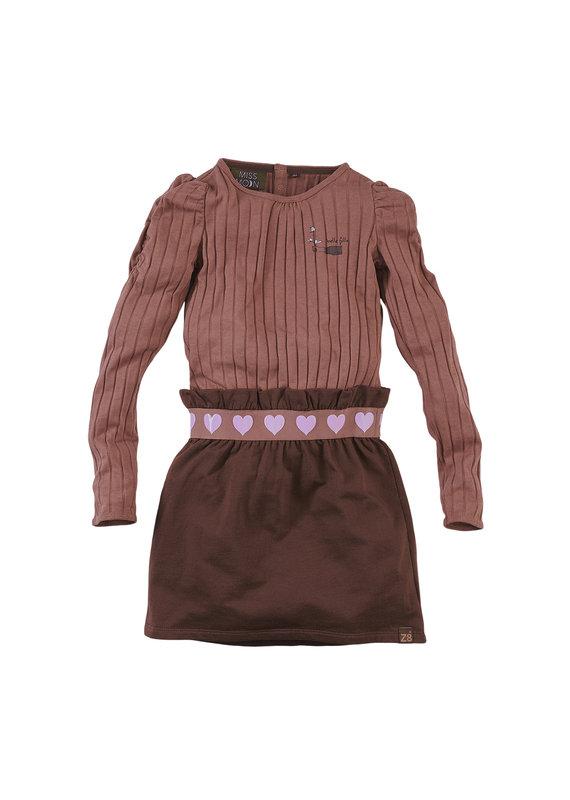 Z8 Z8 jurk Sannah rusty rust/dark choco