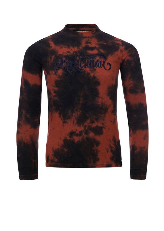 Looxs Looxs shirt cloud dye terracotta