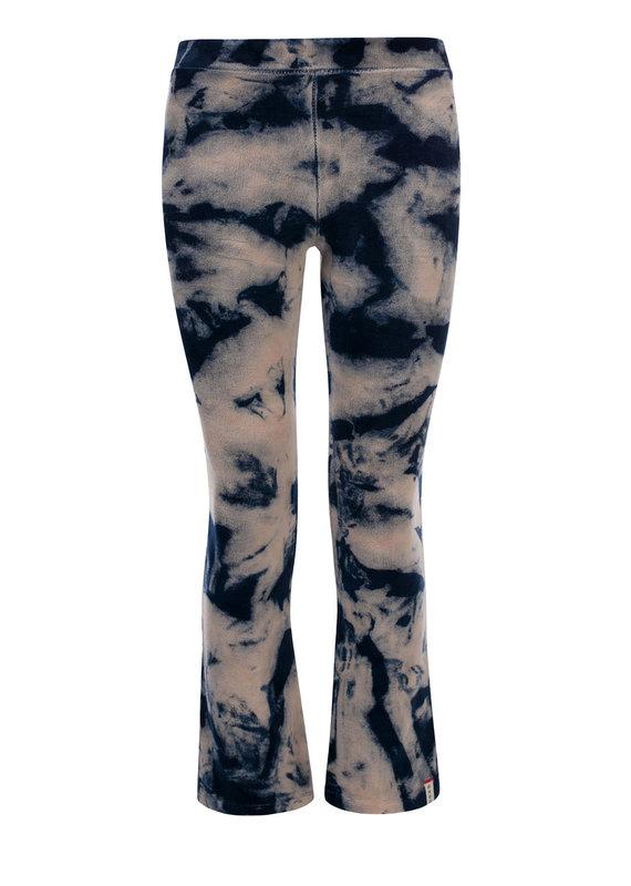 Looxs Looxs pants flare verlours navy