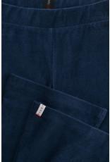 Looxs Looxs pants flare rib verlours deep blue