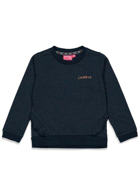Jubel Jubel sweater  Club Amour marine
