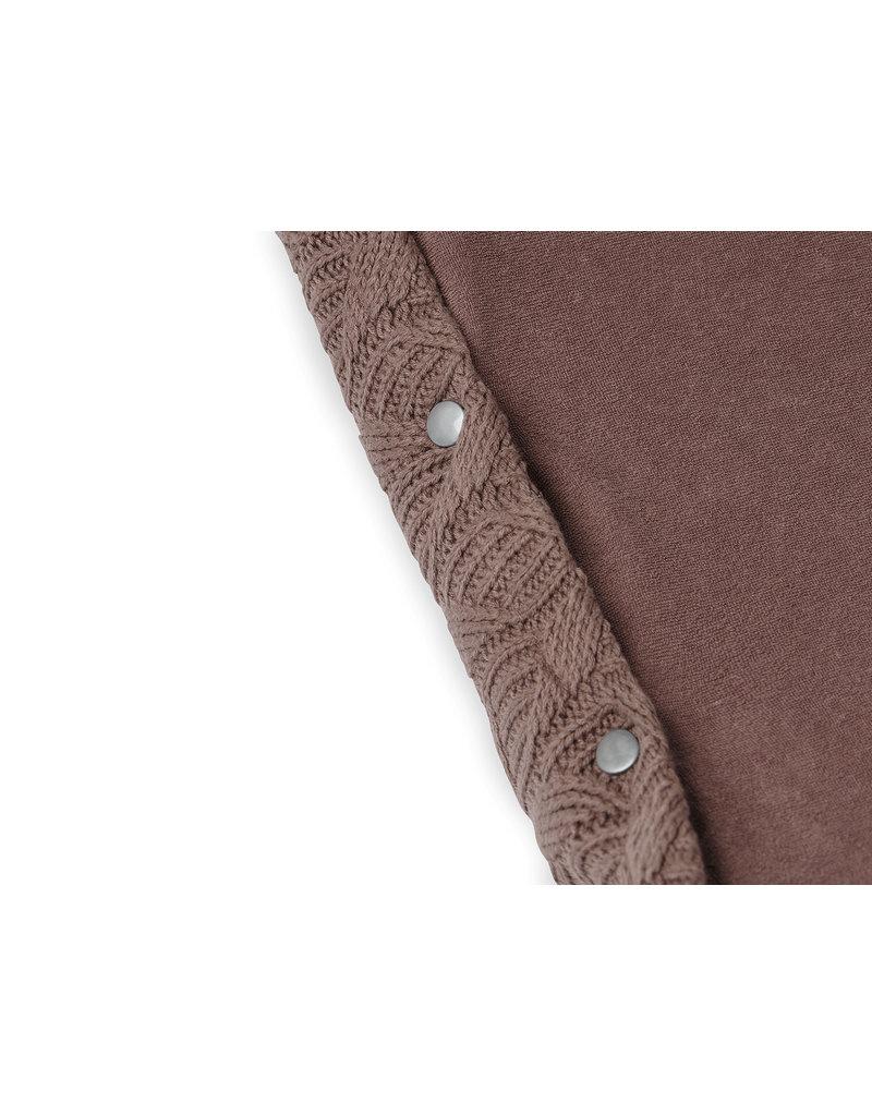 Jollein Jollein aankleedkussenhoes Spring knit chestnut