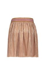 Like Flo Like Flo metallic plisse skirt rose gold