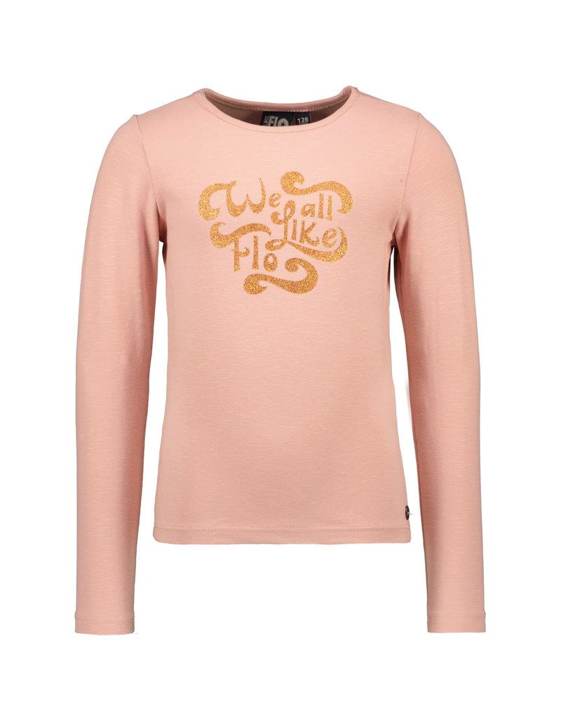 Like Flo Like Flo jersey tee faded pink
