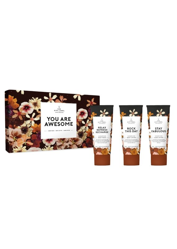 Gift Label The Gift Label Luxe mailbox giftset You are awesome