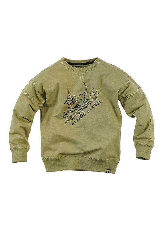 Z8 Z8 sweater Rolf misty moss