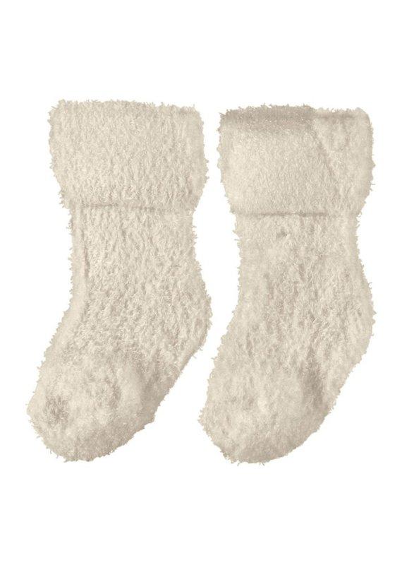 Name-it Name-it sokken NBFRubina terry fluffy whitecap grey