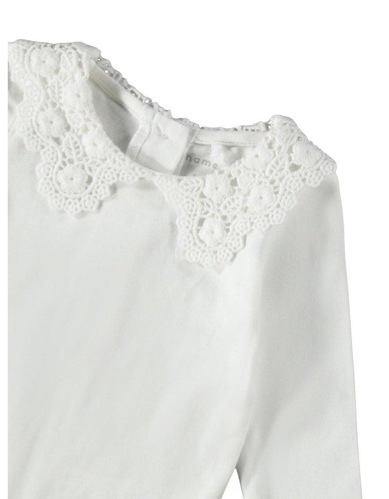 Name-it Name-it romper NBFRagna bright white