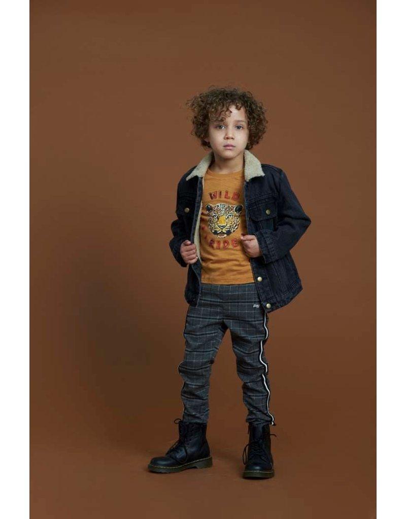 Sturdy Sturdy jeansvest teddy Wild Things black denim