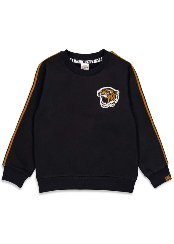 Sturdy Sturdy sweater tiger Wild Things zwart