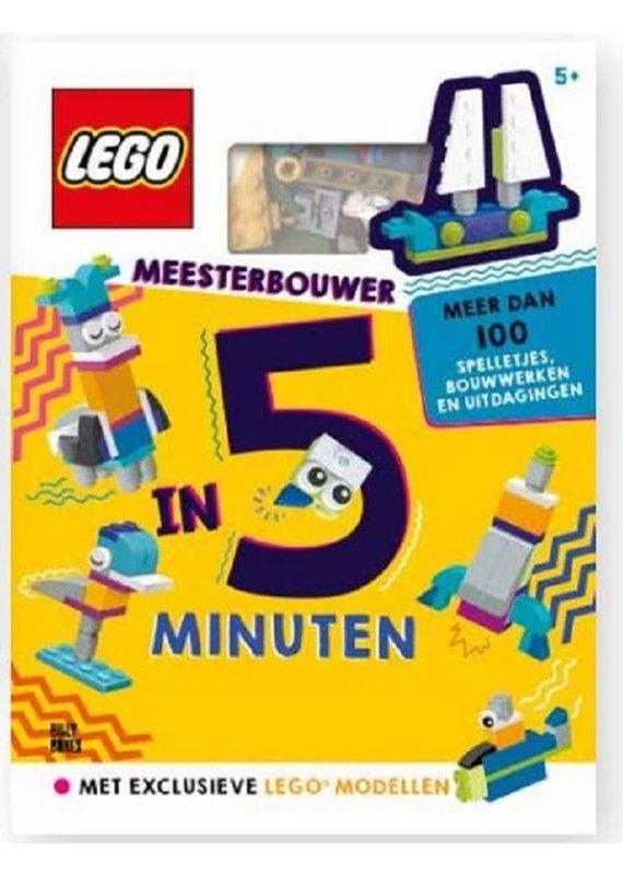 Lego, meesterbouwer in vijf minuten 5+