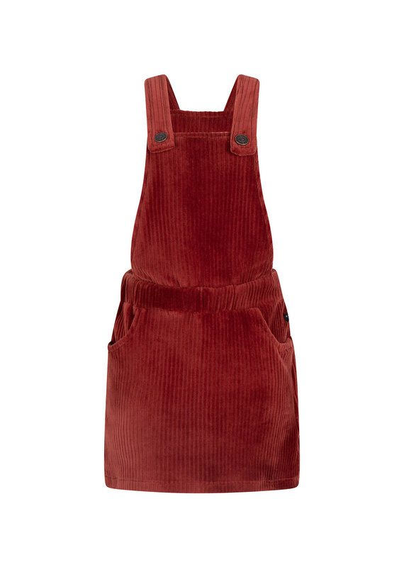 Daily7 Daily7 salopette dress rib barn bordeaux