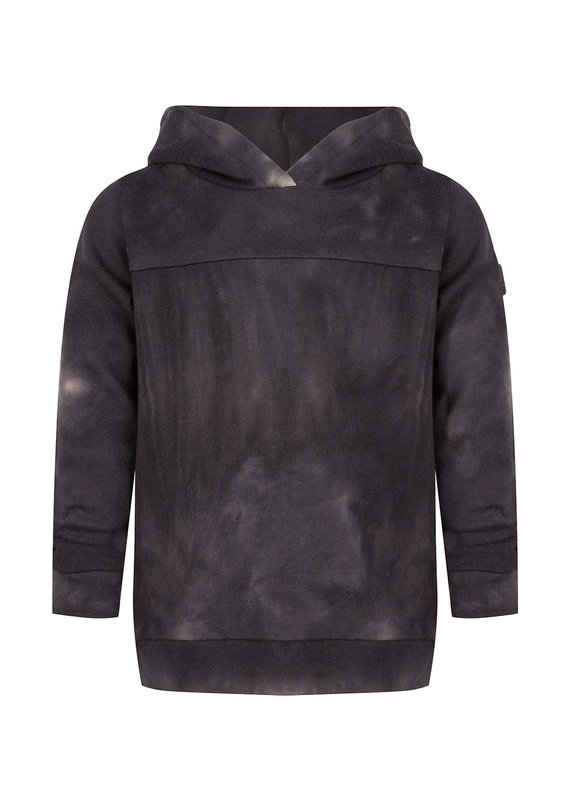 Daily7 Daily7 sweater hooded tie dye antra