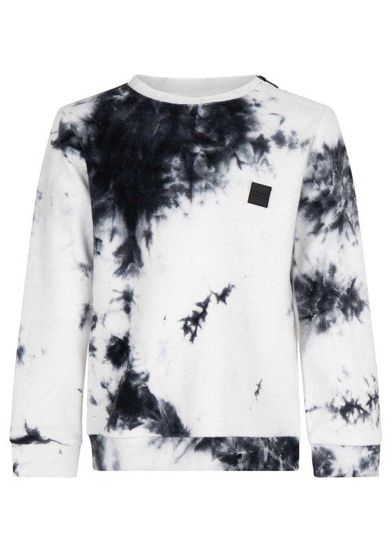 Daily7 Daily7 sweater crewneck tie dye antra