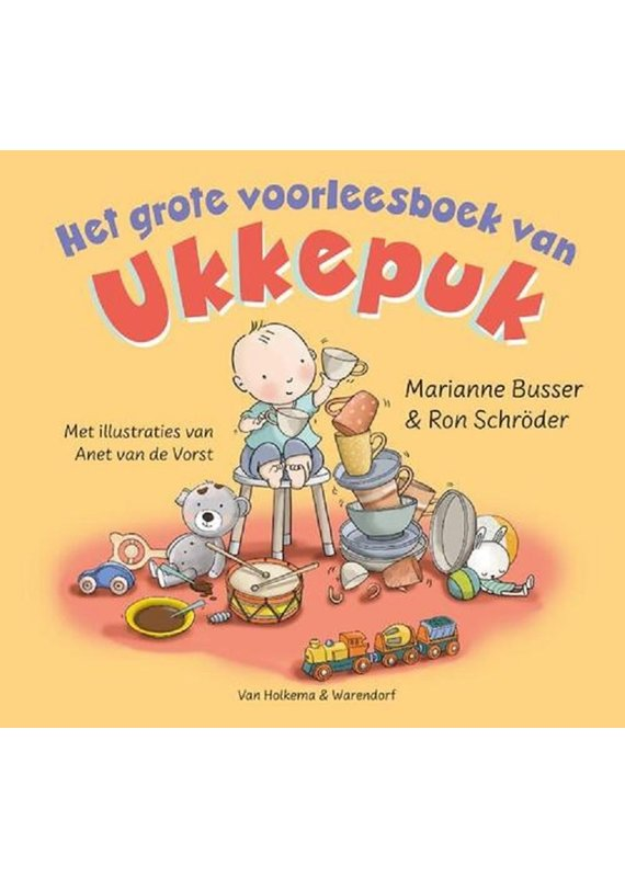 Het grote voorleesboek van Ukkepuk 3+