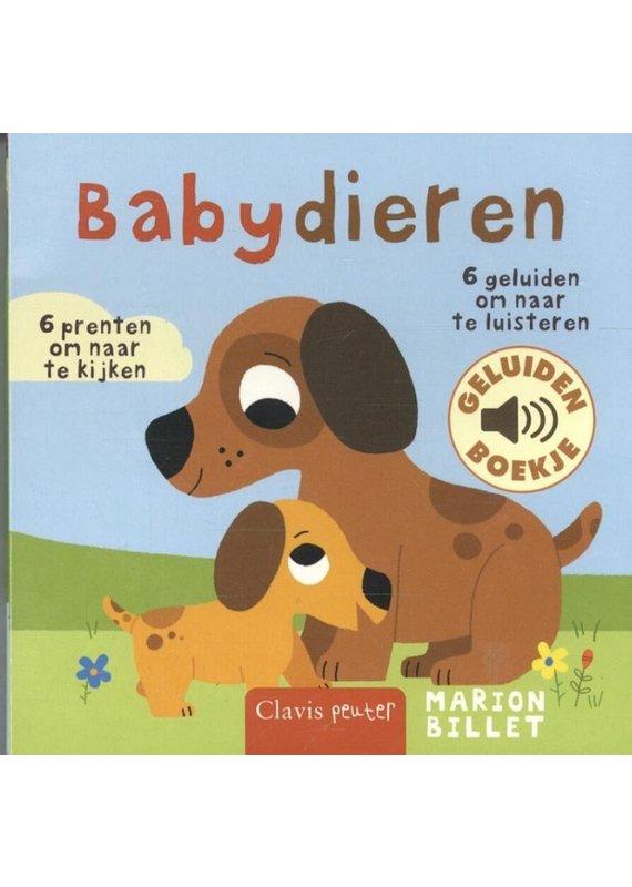 Geluidenboekje babydieren 1+