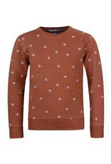 Blue Rebel Blue Rebel sweater embroided argen oil
