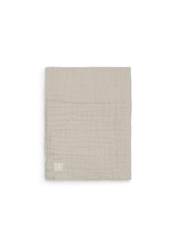 Jollein Jollein Deken 75x100 wrinkled cotton nougat